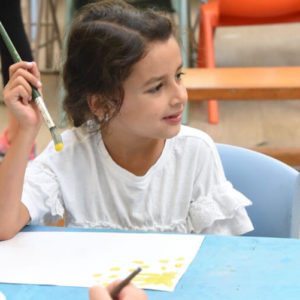 children craft art