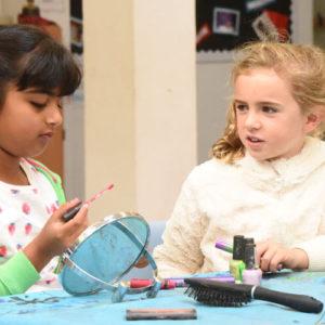 children girls makeup beauty