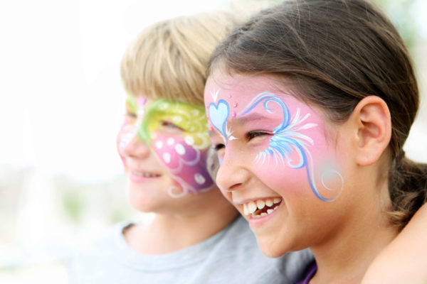 festival fun face paint