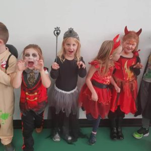 children halloween party