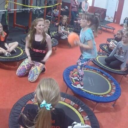 mini trampoline children bounce